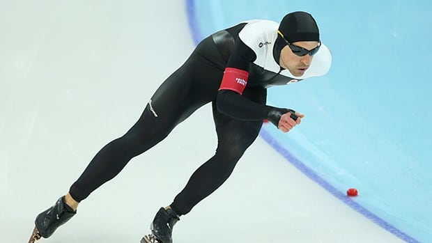Denny Morrison has seven gold, 18 silver and 13 bronze medals in World Cup competition.