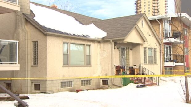 EPS homicide detectives are on scene at this Oliver bungalow where a man's body was found Saturday afternoon.