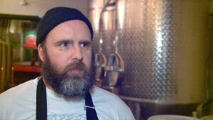 Nigel Springthorpe, co-owner of Brassneck Brewery