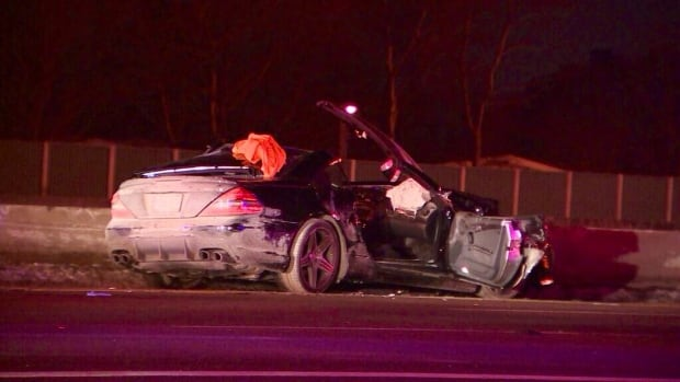 One man is dead and another person injured following a serious crash involving three vehicles early Monday on Highway 401 near Leslie.