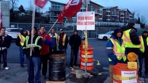 Vancouver port truckers' strike