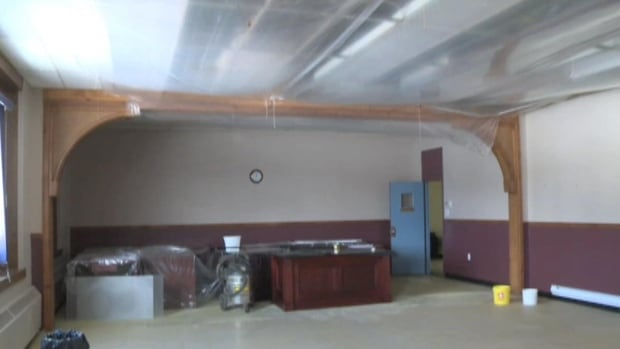 Many groups have been forced to move out of the Grand Bank Municipal Centre while the town assessing the level of water damage in the building after the roof started leaking.