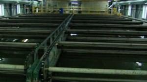 New Dawson City sewage treatment plant
