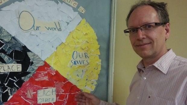 Peter Obendoerfer is Principal of Elwick Community School in The Maples in Winnipeg.