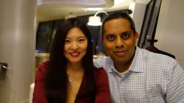 Bai Xiaomo, 37, and Muktesh Mukherjee, 42, got married in Montreal and bought a home in the city in 2004. Most recently they lived in Beijing.