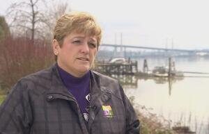 Pitt Meadows Mayor Deb Walters - bridge tolls - Golden Ears Bridge