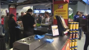 Aramark employees - Rogers Arena concessions food and beverage