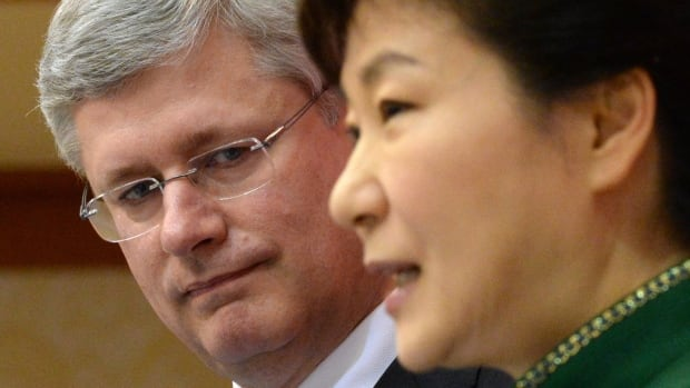 Prime Minister Stephen Harper and South Korean President Park Geun-hye announced on Tuesday that the two countries have concluded negotiations on a free trade agreement.