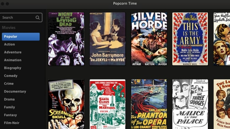 Popcorn Time is like 'Netflix for pirates': Dan Misener