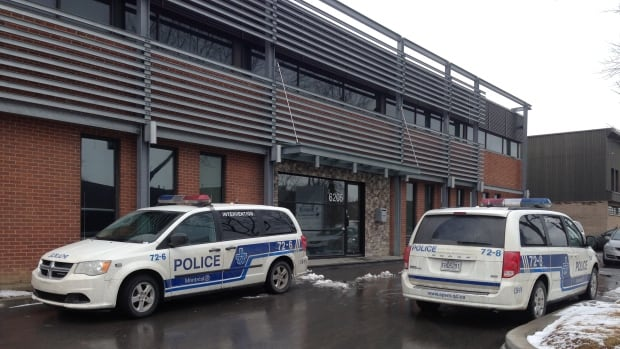 Catcan Inc. in St-Léonard was one of the businesses searched Tuesday morning by the Canadian Competition Bureau.
