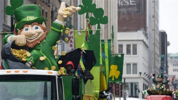 Thousands of people come out to the annual Montreal St. Patrick's Day parade every year.