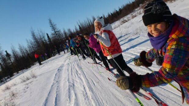 The Kuujjuaq Cross-country Ski Club is the first of its kind in recent memory. In its first year, it attracted 10 girls. Now it has 40.