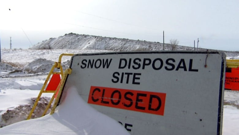 Snow-dump 'mountain' will loom over Kenaston again this