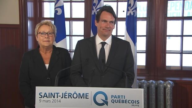 Media mogul Pierre Karl Péladeau announced Sunday he's running as the Parti Québécois candidate in the riding of Saint-Jérôme.