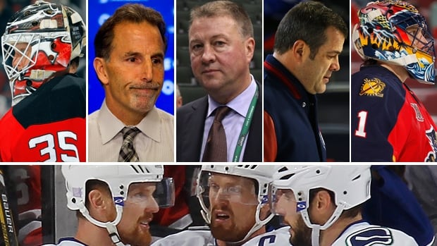 Fans picked some of the reasons why the Canucks have been struggling in 2014, and many of the faces in this composite photo were front and centre.