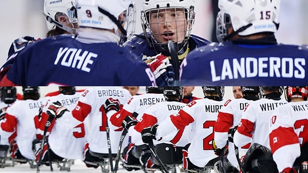 Canada's path to the sledge hockey gold medal at the Sochi Paralympics goes throught the United States. The two teams play in semifinal action on Thursday at noon ET.