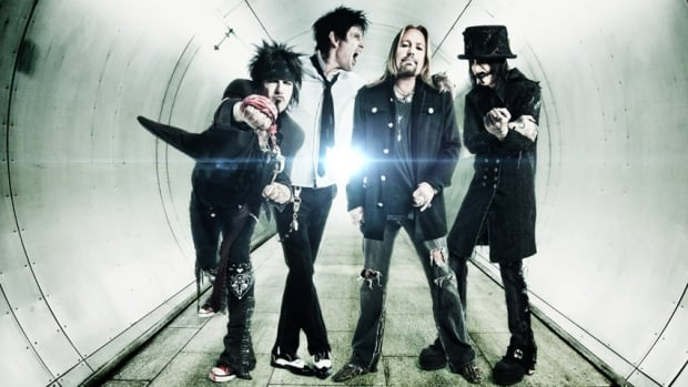 1980s hair metal band Motley Crue's Rockfest appearance will be part of its farewell tour.