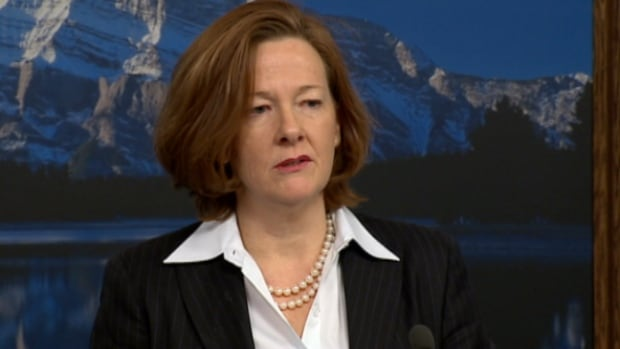 Alison Redford stepped down as Alberta premier on Sunday.