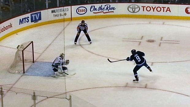 Evander Kane's penalty shot