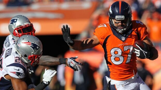 Wide receiver Eric Decker set career highs last season with 87 catches and 1,288 yards receiving to go along with 11 touchdowns with the Denver Broncos.