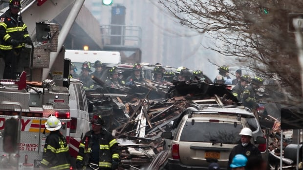 Eight people were killed and more than 60 injured in last Wednesday's blast in Harlem. The explosion has been blamed on a gas leak.