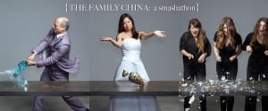 Poet Ann Shin's Family China Smash-A-Thon