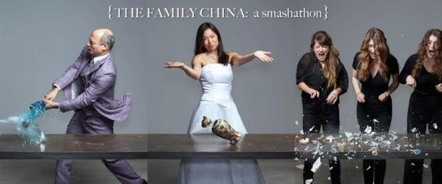 Poet Ann Shin's Family China Smash-A-Thon