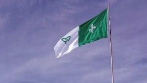 franco-ontario flag