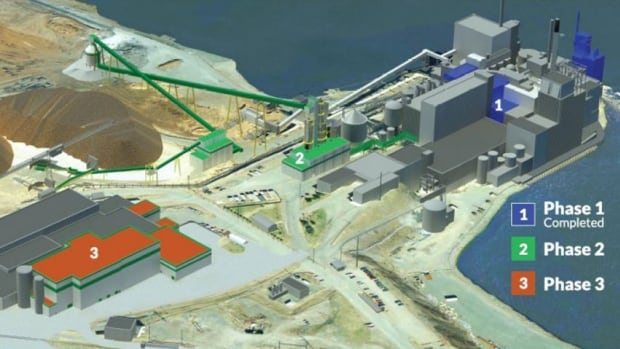 The $450 million in upgrades at the Irving Pulp & Paper mill in west Saint John be done in two phases, starting this spring.