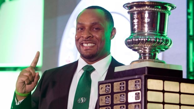 His rise was swift. In his second season, Corey Chamblin led the Riders to the CFL championship. He was named Coach of the Year.  But soon, it all came tumbling down.
