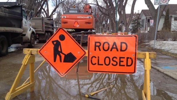 Water main breaks like this one continue to plague Saskatoon.
