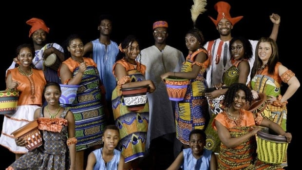 Cast of Izabobo! An African Musical