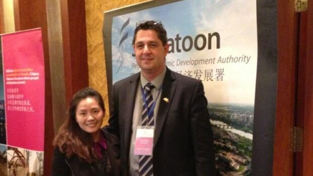 Tim LeClair in China.