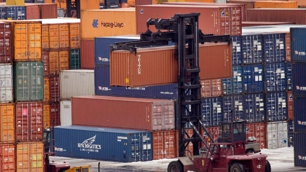 The container fell at the Ceres terminal in Fairview Cove in the city's north end.