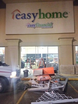 Easyhome crash and rob