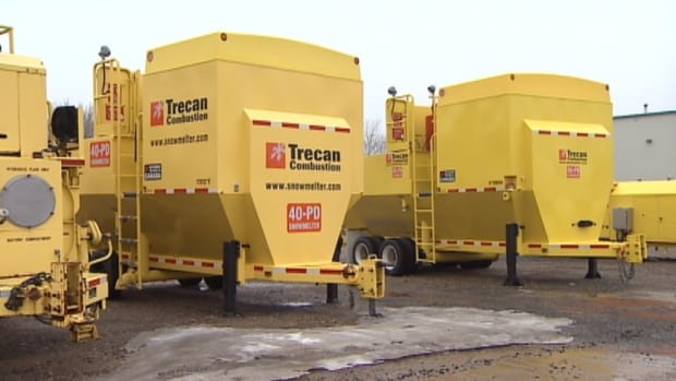 The snow-melting machines have been sold all over North America, Europe and Asia.