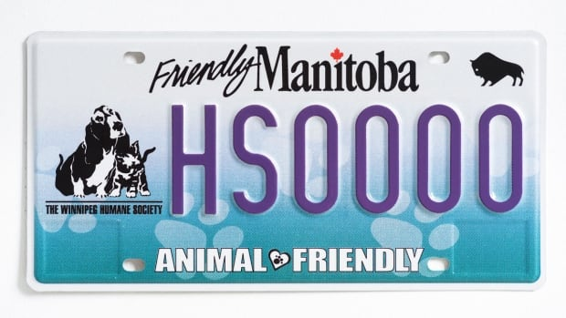 A new speciality licence plate featuring the Winnipeg Humane Society was revealed on Friday afternoon.