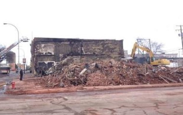 Moose Jaw fire aftermath skpic