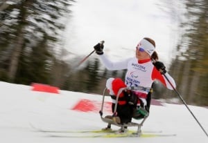 Colette Bourgonje at the Sochi Paralympics
