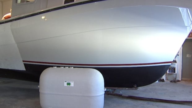 Provincial Boat and Marine Ltd. will now be manufacturing fibreglass oil tanks to keep their business in the black.