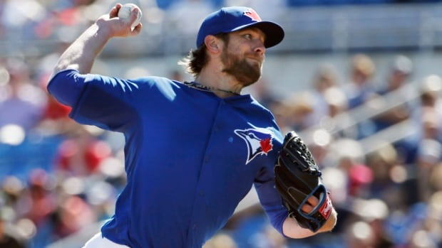 Toronto Blue Jays pitcher Kyle Drabek gave up eight runs on 10 hits in eight innings this spring.
