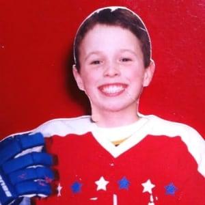 Louis Bernard as a child