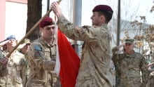 Canadian flag lowered in Afghanistan