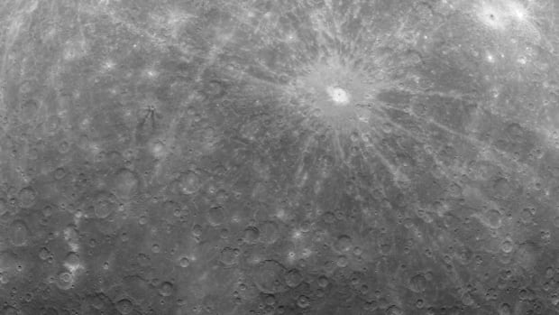 Cooling of Mercury's massive iron core has pared 14 kilometres from the planet's diameter, more than twice as much as previous estimates.