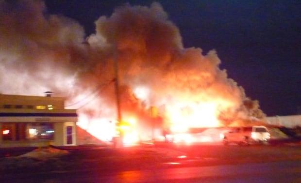 McAra Street fire in Regina