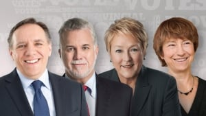 Quebec Votes 2014 Party Leaders