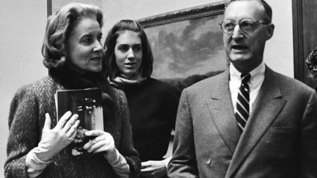 "Rachel ""Bunny"" Mellon, left,  a wealthy arts and fashion patron, friend of first lady Jacqueline Kennedy and political benefactor, died Monday."