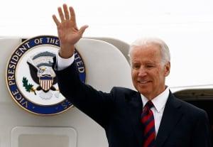POLAND/ Joe Biden arrives