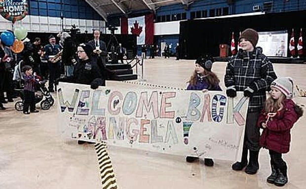 Troops welcomed home from Afghanistan