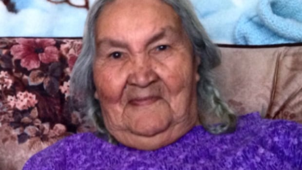 Theresa Sapp, 77, a survivor of Thunderchild Indian residential school at Delmas, Sask., was surprised that a group of non-aboriginal allies were walking to honour survivors.
